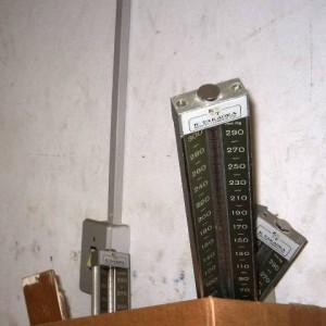 termômetros descartados