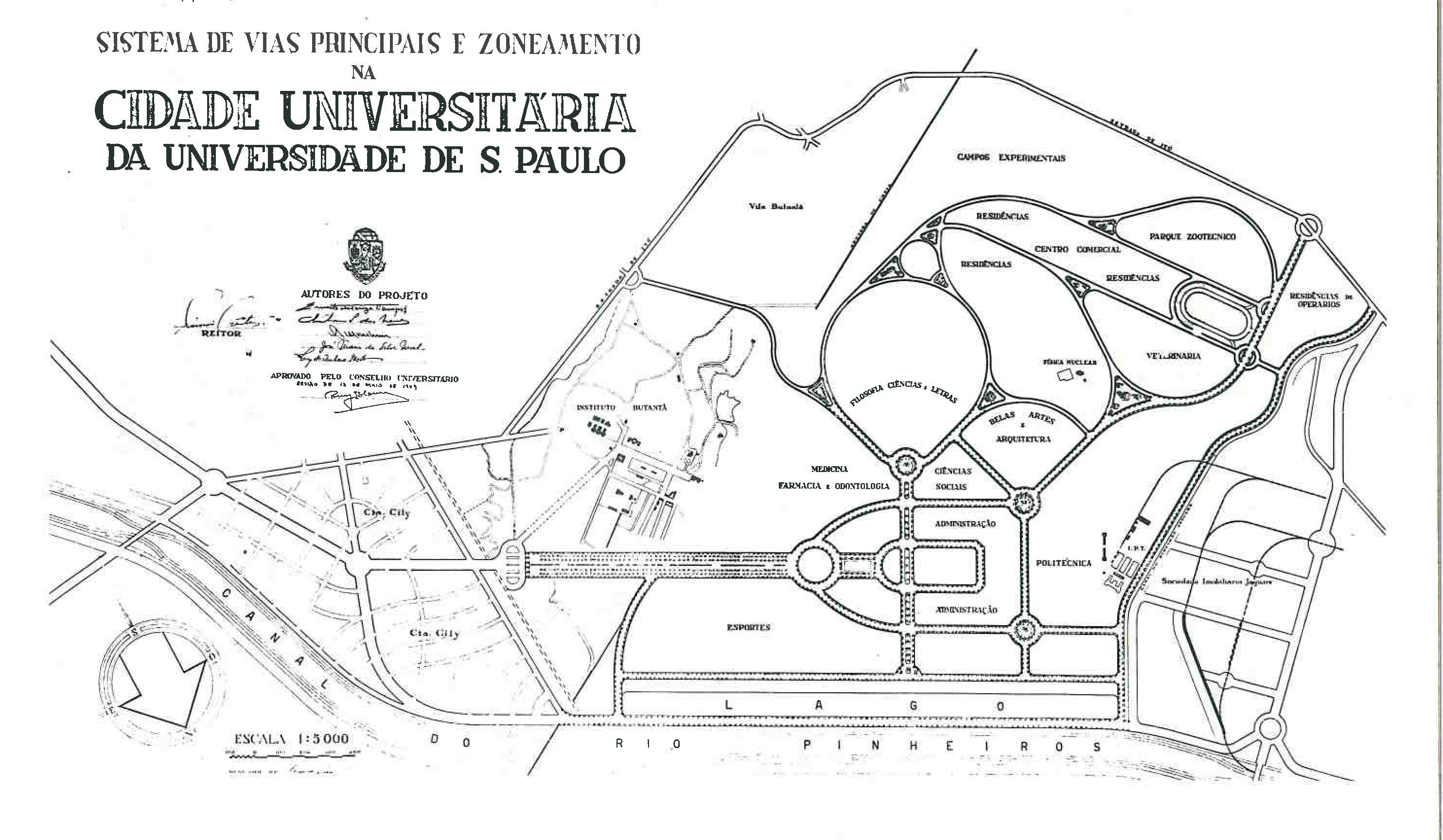 Planta Geral CUASO (1949)